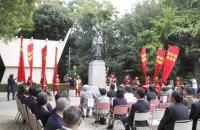 建立奉告祭・除幕式 同10月13日 本殿・境内