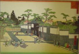 浪花百景(一心寺):初代・長谷川貞信