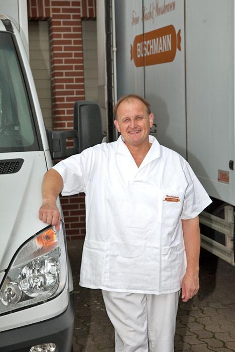 Unser Fahrer Rolf Lüdemann