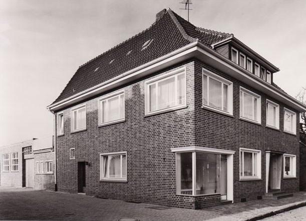 Wohn- und Geschäftshaus in der Twistringer Georgstraße, nach dem Umbau, 1960er Jahre