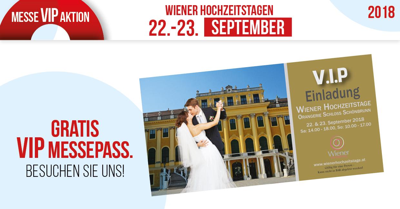 Wiener Hochzeitstage Gratis Vip Messepass Trauringlounge