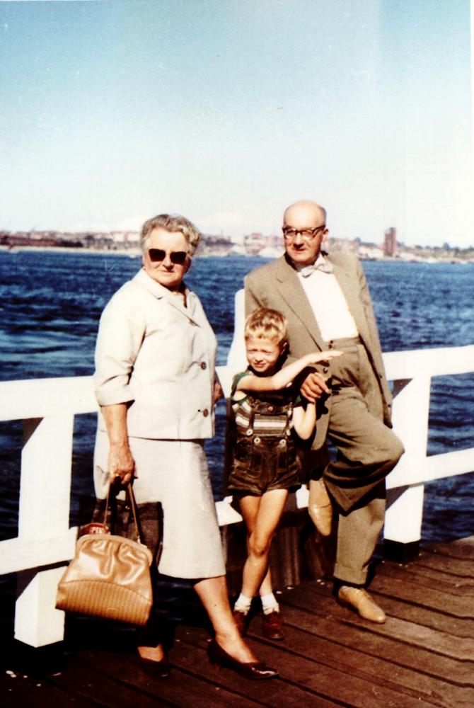 Tante Frieda und Onkel Erich
