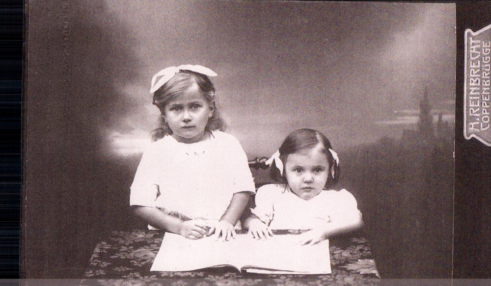 Oma und ihre Schwester, Tante Lissi