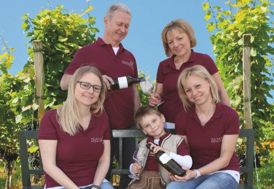 Family Küssler, Winery Küssler, Austria