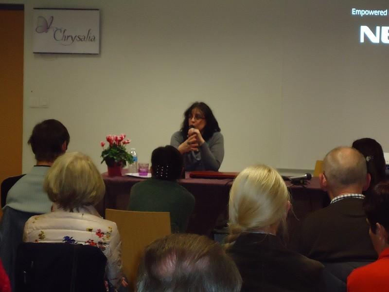 Sylvie Chevalerias, médium conférencière