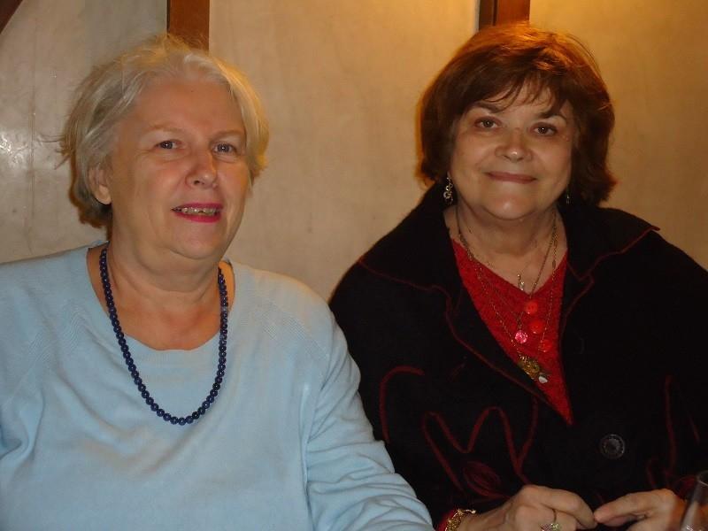 Danielle Semelle (conférencière) et Lydiana (médium)