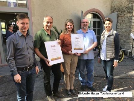 Neue Produzenten in der Typisch Harz Familie 2018: Harzkeramik und der Westerhäuser Käsehof