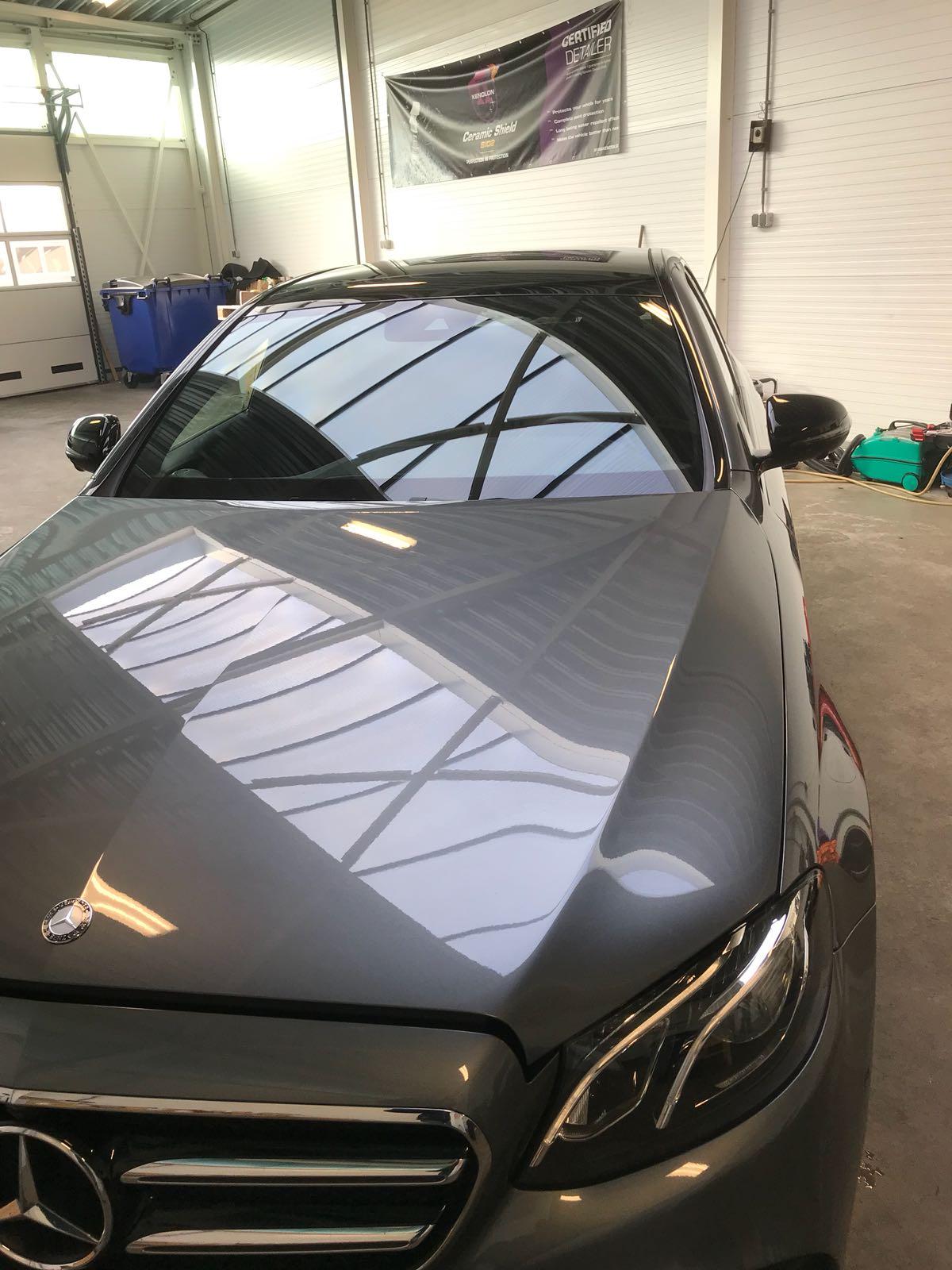 Glas coating