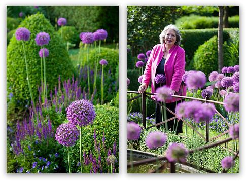 Eva Kohlrusch im Allium-Garten