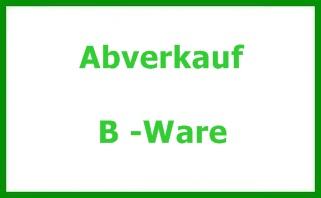Abverkauf   &   B - Ware