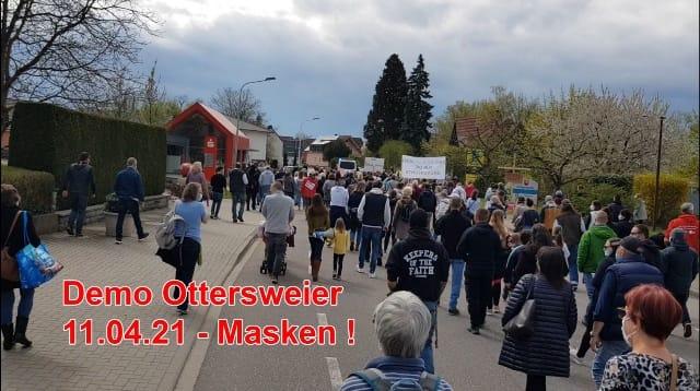 Masken sind die neue Ersatzreligion - Rede zur Demo in Ottersweier