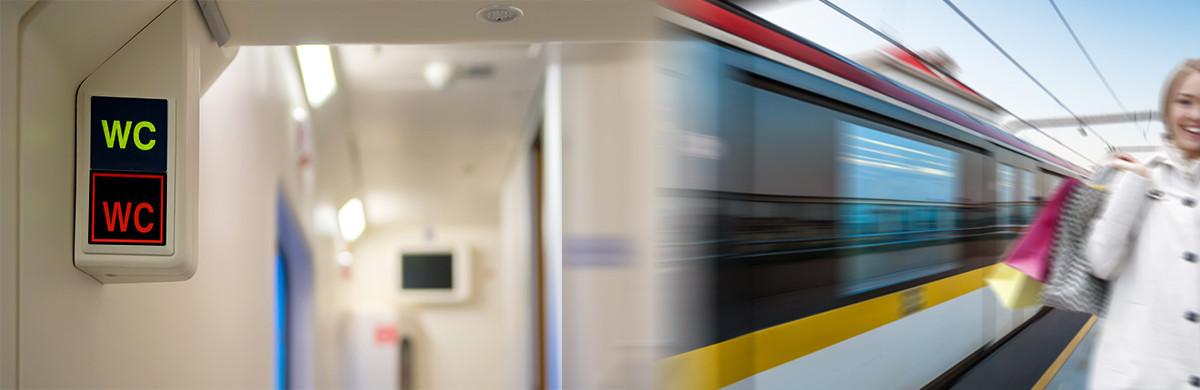 Applikationen für die Schienenfahrzeugtechnik