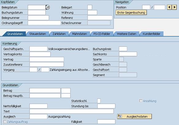 SEPA SAP FS-CD Zahlung www.hettwer-beratung.de