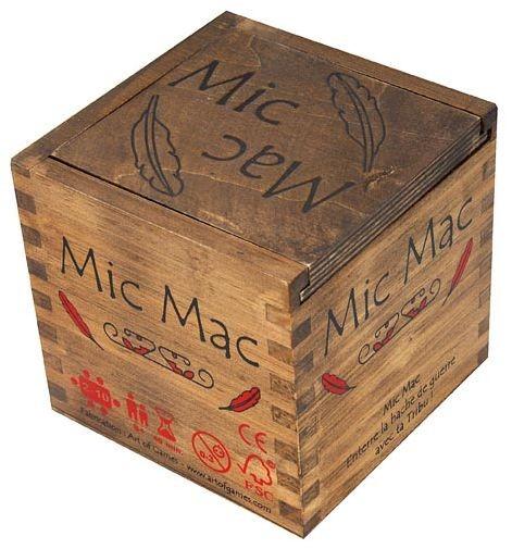 La boîte du jeu Mic Mac