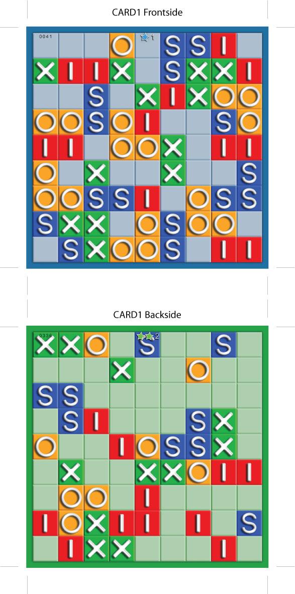 Du plus facile (beaucoup de carrés sont donnés)...