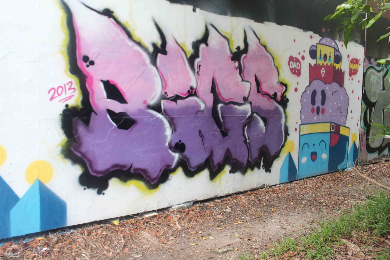 bigs - greenoaks wall 2013
