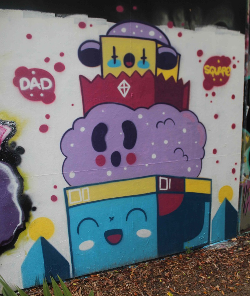 square dad - greenoaks wall 2013