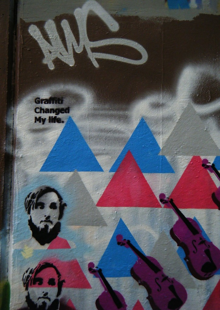 graf changed...- greenoaks wall 2010