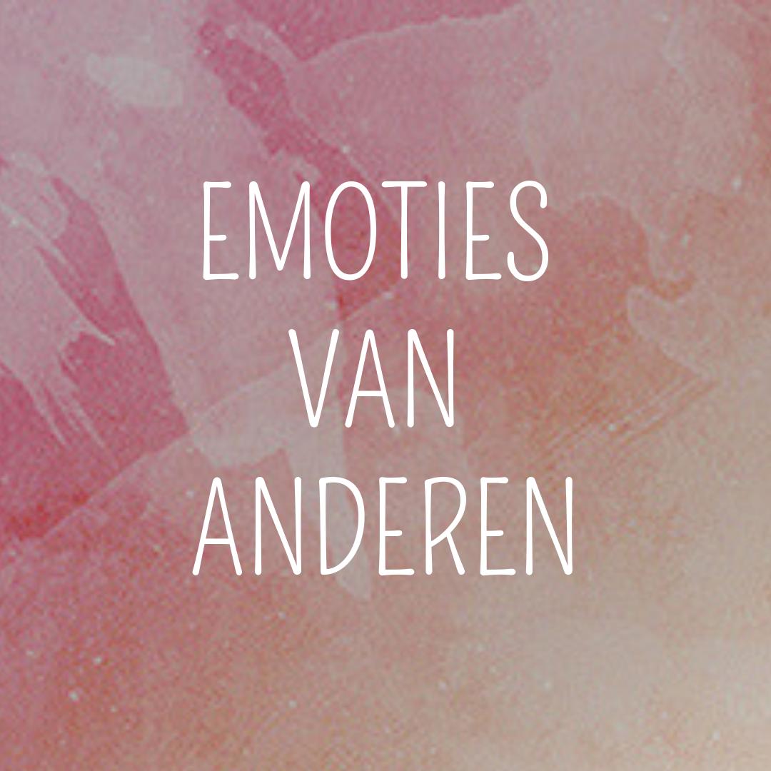 emoties van anderen