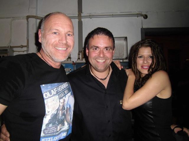 mit Olaf Henning und Melanie Jäger
