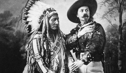 Sitting Bull und Buffalo Bill