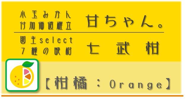 戦略O:柑橘【Orange】  npo戦略 和×夢 nagomu farm
