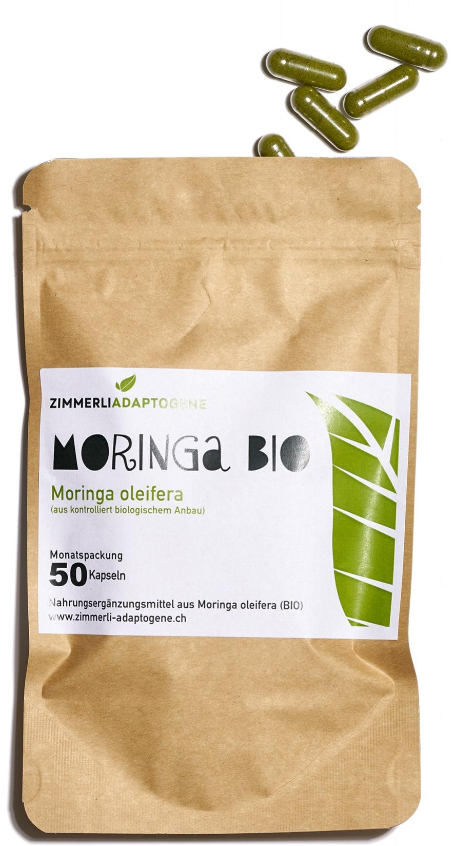 Moringa Olifeira in Karton Verpackung