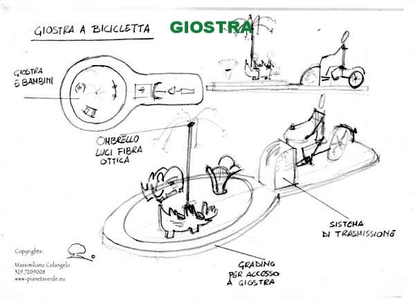 GIOSTRA A BICICLETTA