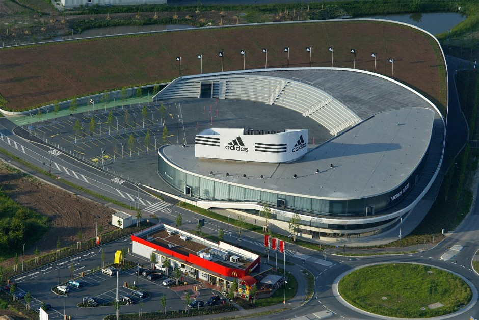 Adidas Outlet-Store; Herzogenaurach