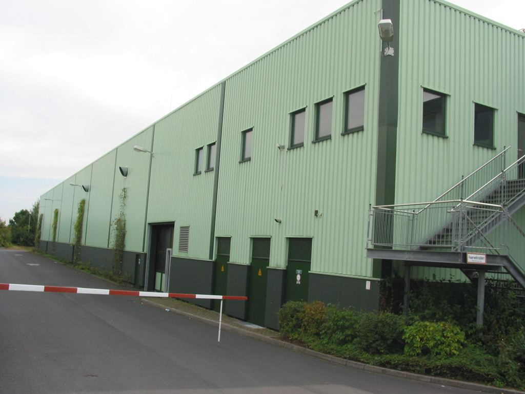 Getlog GmbH; Logistikhallen