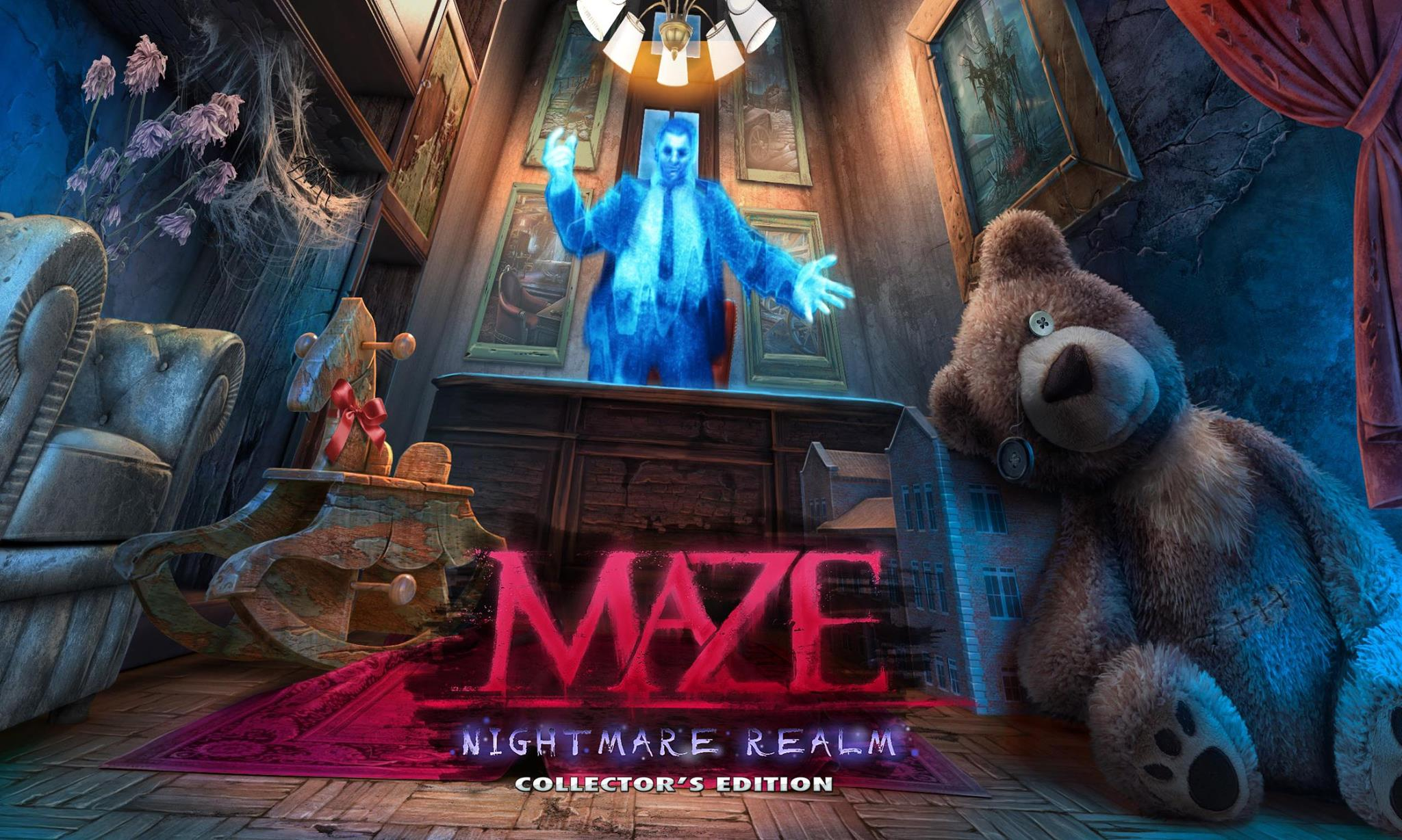 Maze:Nightmare Realm (Mad Head Games, Big Fish Games)