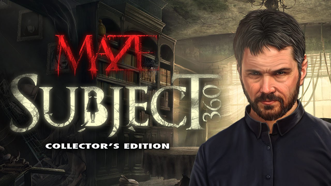 Maze:Subject 360 (Mad Head Games, Big Fish Games)
