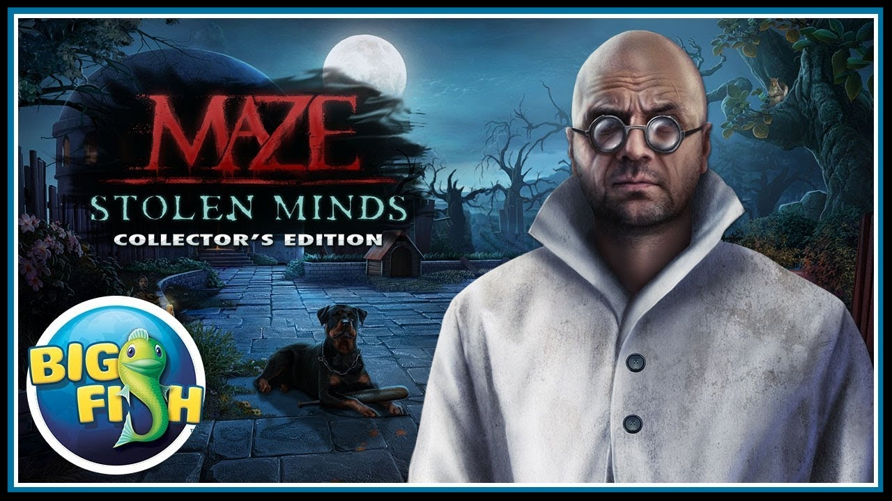 Maze: Stolen Minds (Mad Head Games, Big Fish Games)