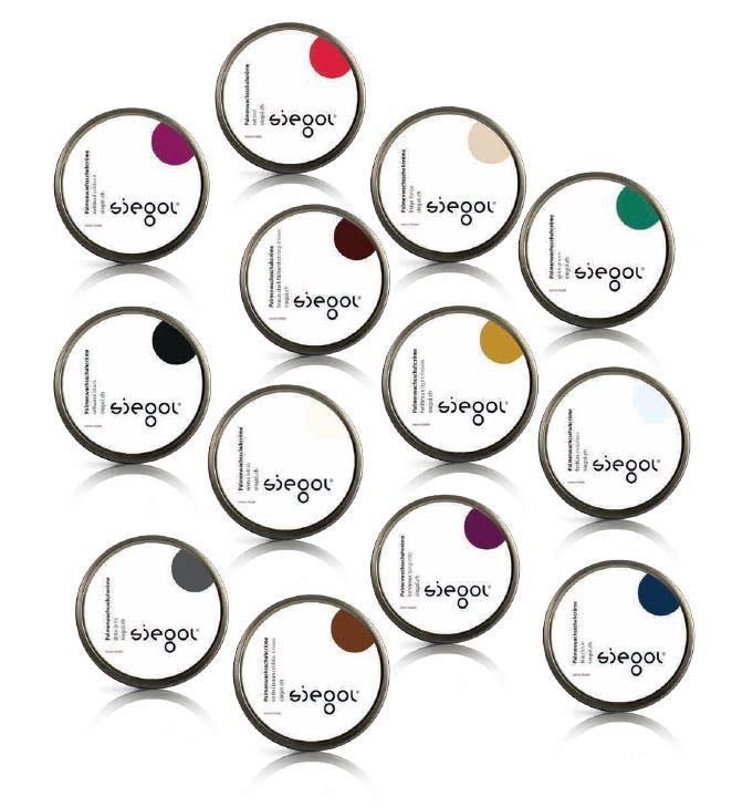 Siegol Palmenwachsschuhcreme in 14 Farbtönen