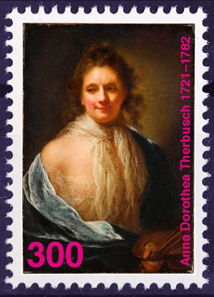 #therbusch300-Briefmarke: © beate maria wörz, 2021