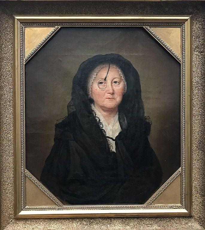 Selbstbildnis um 1780, Öl auf Leinwand, 36,9 x 32,3 cm, Staatliche Museen zu Berlin  © Wikimedia Commons