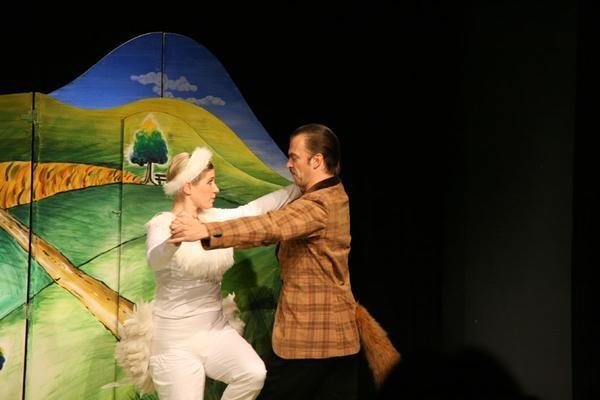 Oh wie schön ist Panama. Theater St. Gallen 2007. Foto: Tine Edel