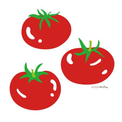 トマト3つ