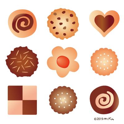 クッキー9つ