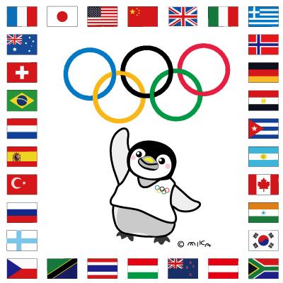 ペンギンと五輪