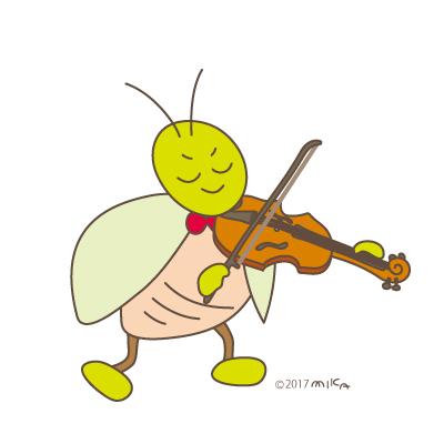 ヴァイオリニスト①(虫たちのオーケストラより)
