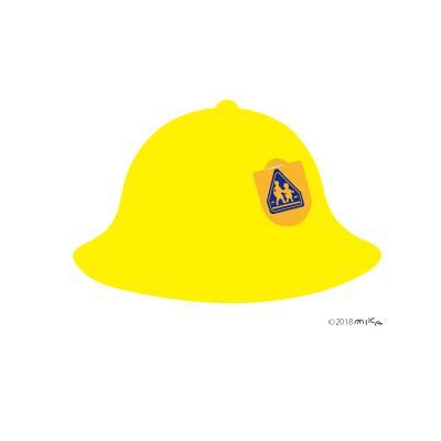 通学帽(メトロ帽型)