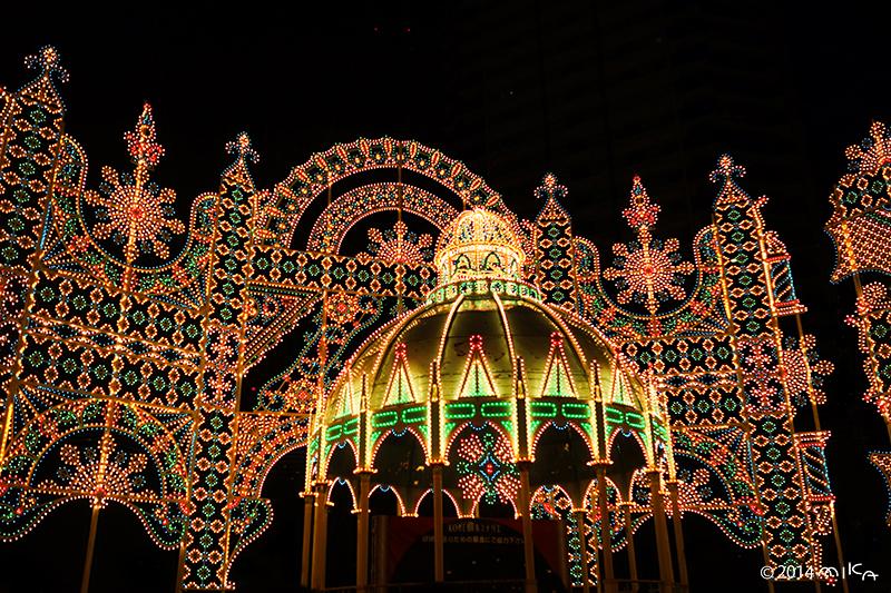 カッサ・アルモニカ「光のカッサ・アルモニカ」②/神戸ルミナリエ2014年