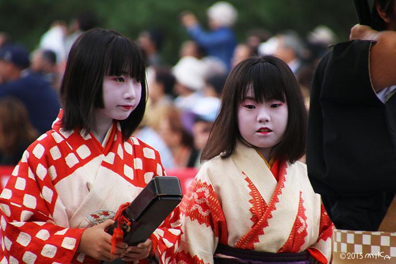 江戸時代婦人列 禿