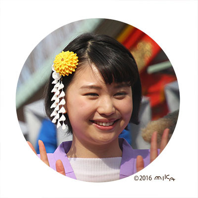 林 真帆さん(成田山節分祭2015年)