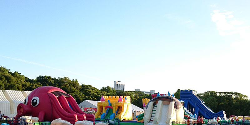 大阪城ウォータープールbyハウステンボス(2016年)