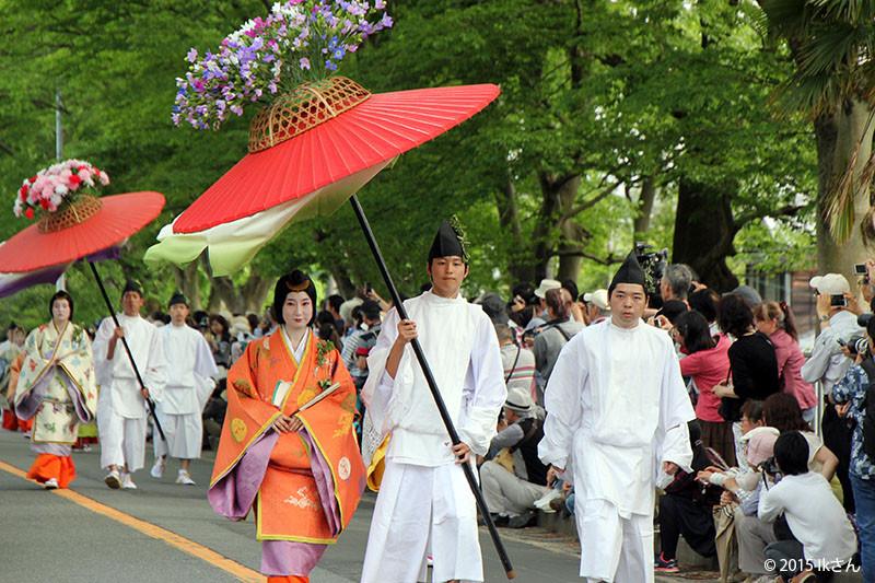 斎王代行列の風流傘(大阪府IKさん)