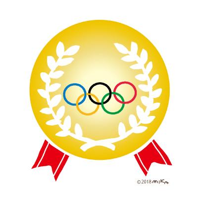 オリンピックの金メダル