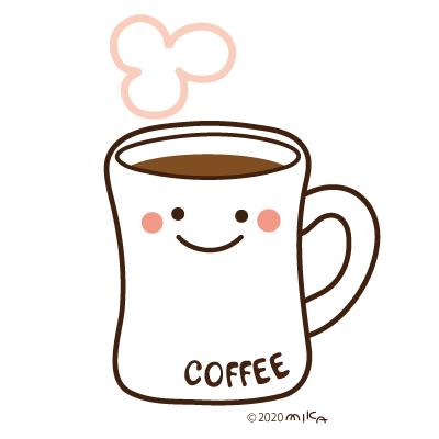 マグカップ入りコーヒー