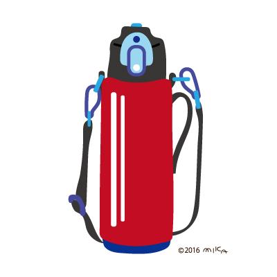 水筒(赤×青)